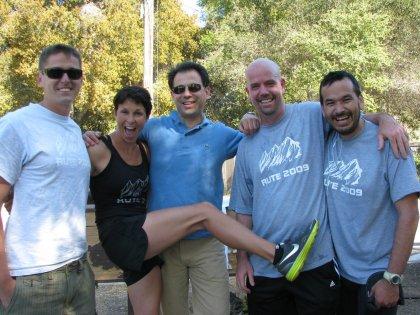 Dave, Brian, Kary (Beauty), Drew, Dan